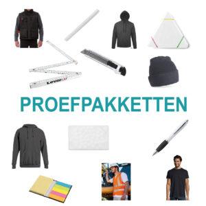 Categorie proefpakketten