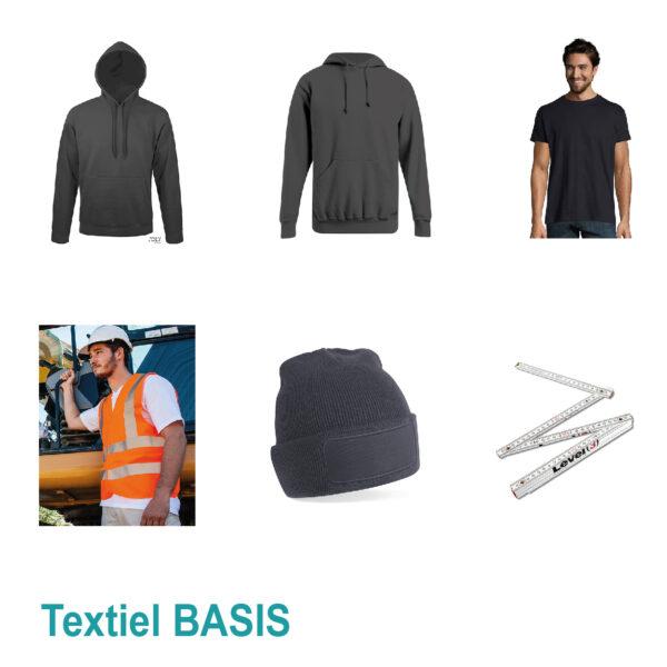 Proefpakket textiel basis
