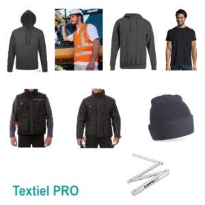 Proefpakket textiel pro